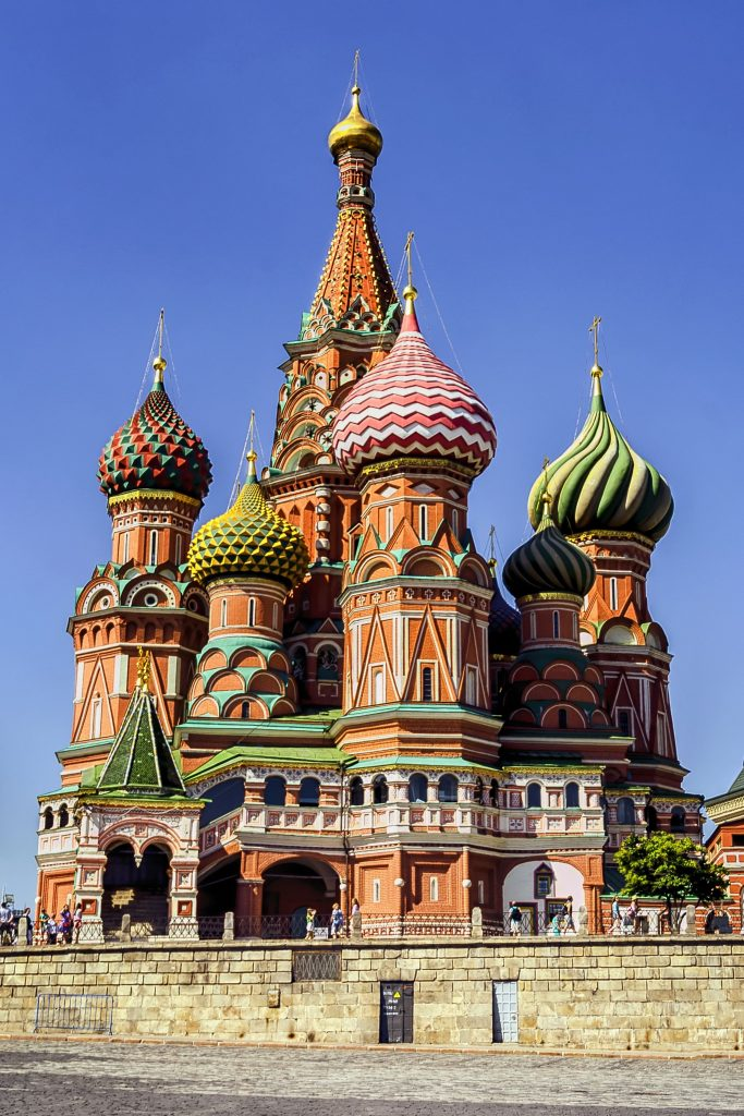 Moscow, St Basil's Cathedral